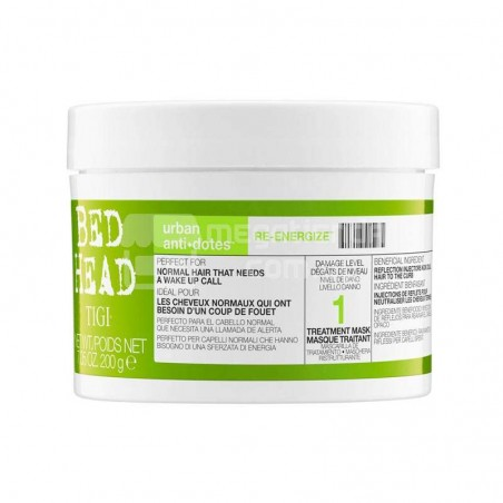 TIGI Bed Head Urban Anti+dotes Re-Energize Mascarilla de Tratamiento 200g